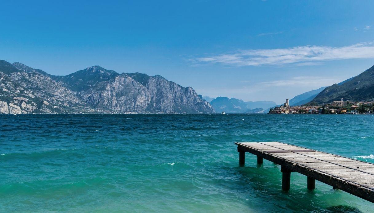 Lago di Garda a rischio