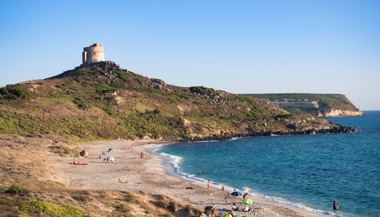 Spiaggia San Giovanni di Sinis