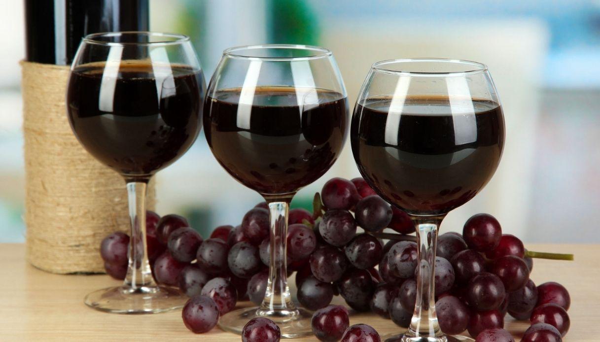 I migliori vini rossi italiani