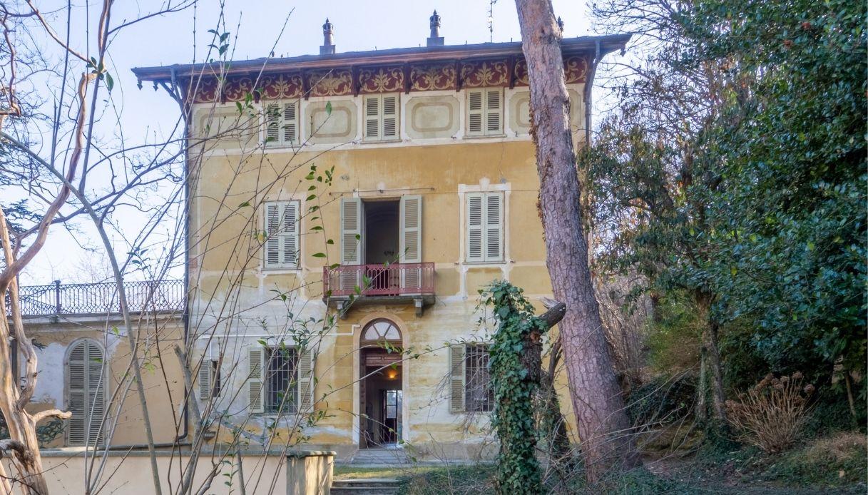 La villa di Giolitti è in vendita