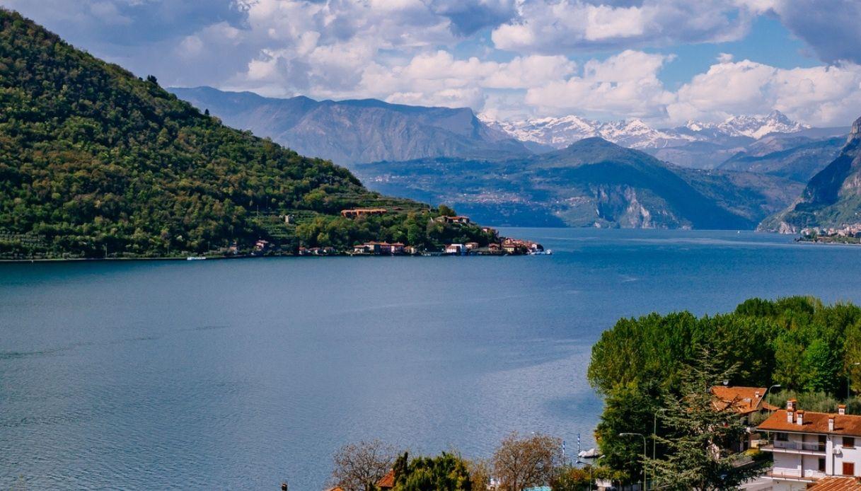 Lago di Iseo, rischio onda fino a 9 metri: 3 scenari per la frana
