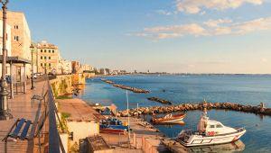 Taranto panorama lungomare