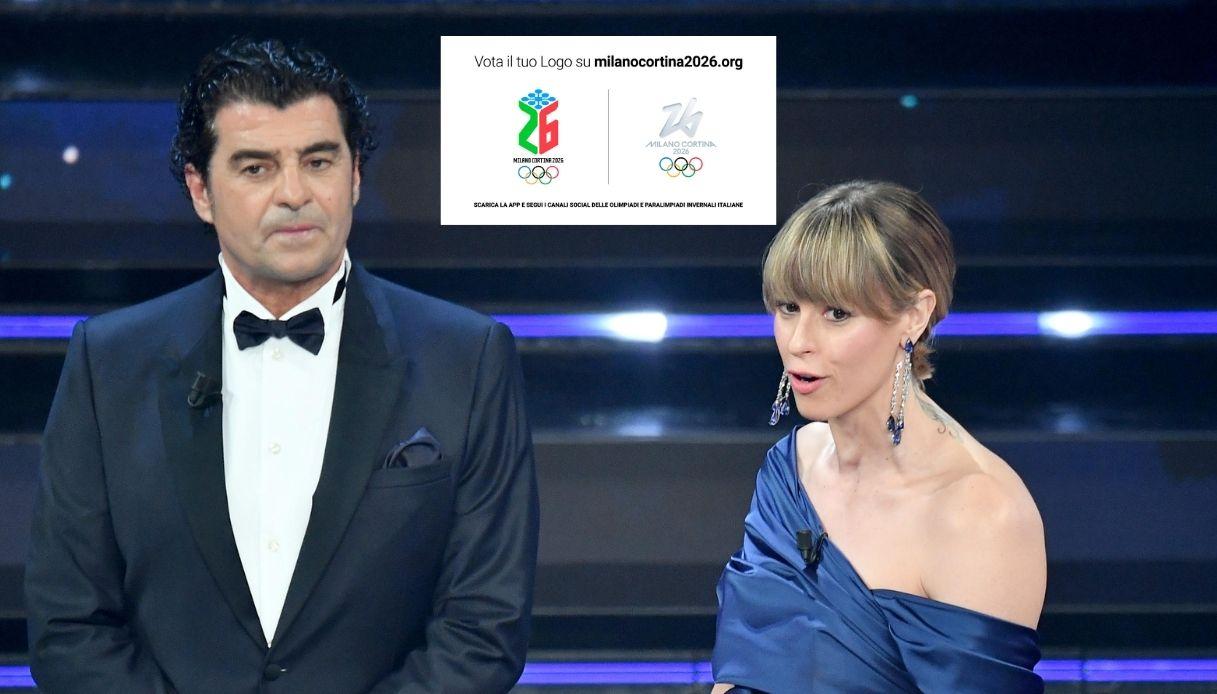 A Sanremo svelati i loghi per Milano-Cortina 2026: come votare