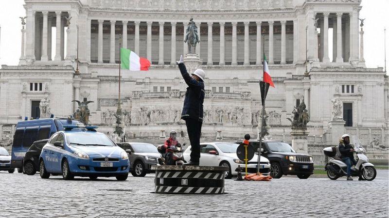 Vigile piazza Venezia