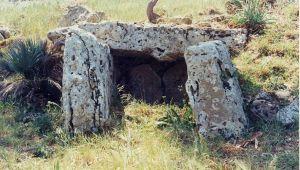 Il dolmen di Monte Bubbonia