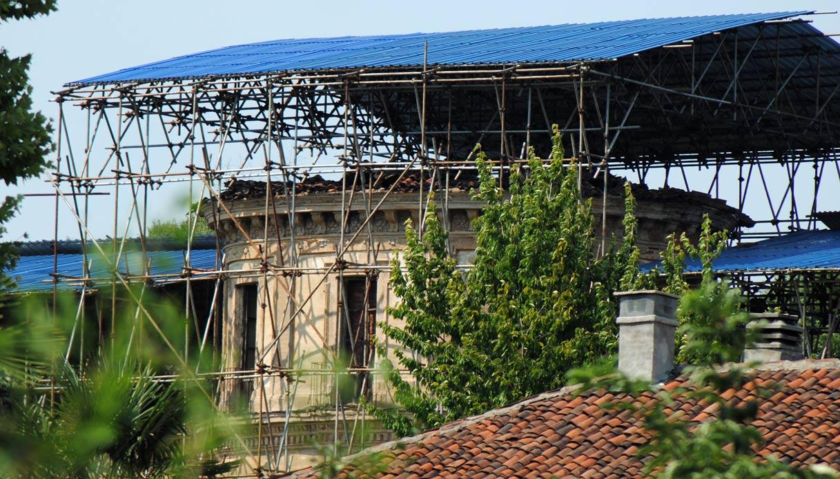 Villa Il Maggiordomo è in rovina