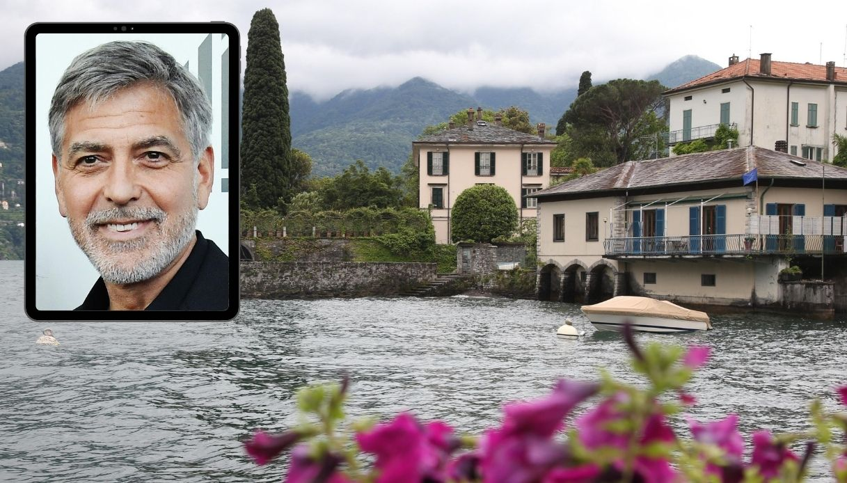 George Clooney mette in palio un weekend con lui sul lago di Como
