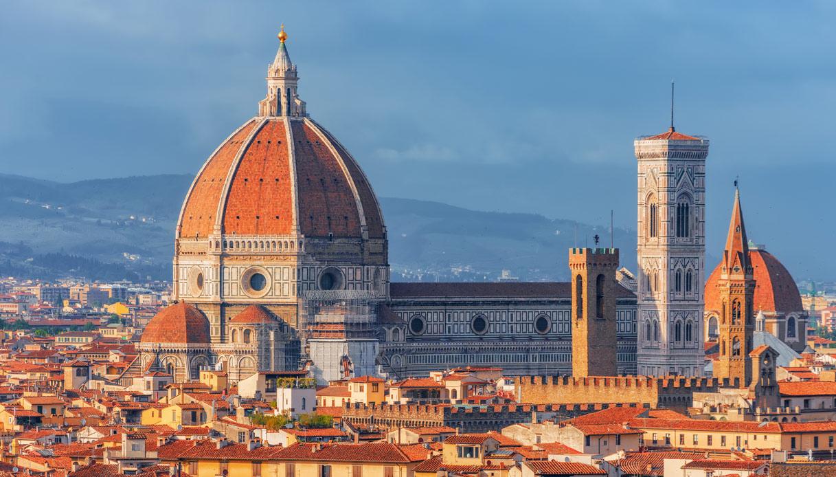 Firenze vista panoramica