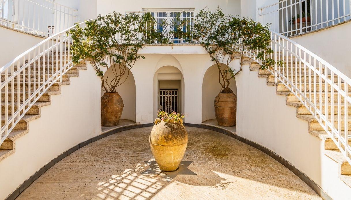 A Capri è in vendita la villa dove visse Totò