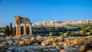 Teatro gresco scoperto nella Valle dei Templi