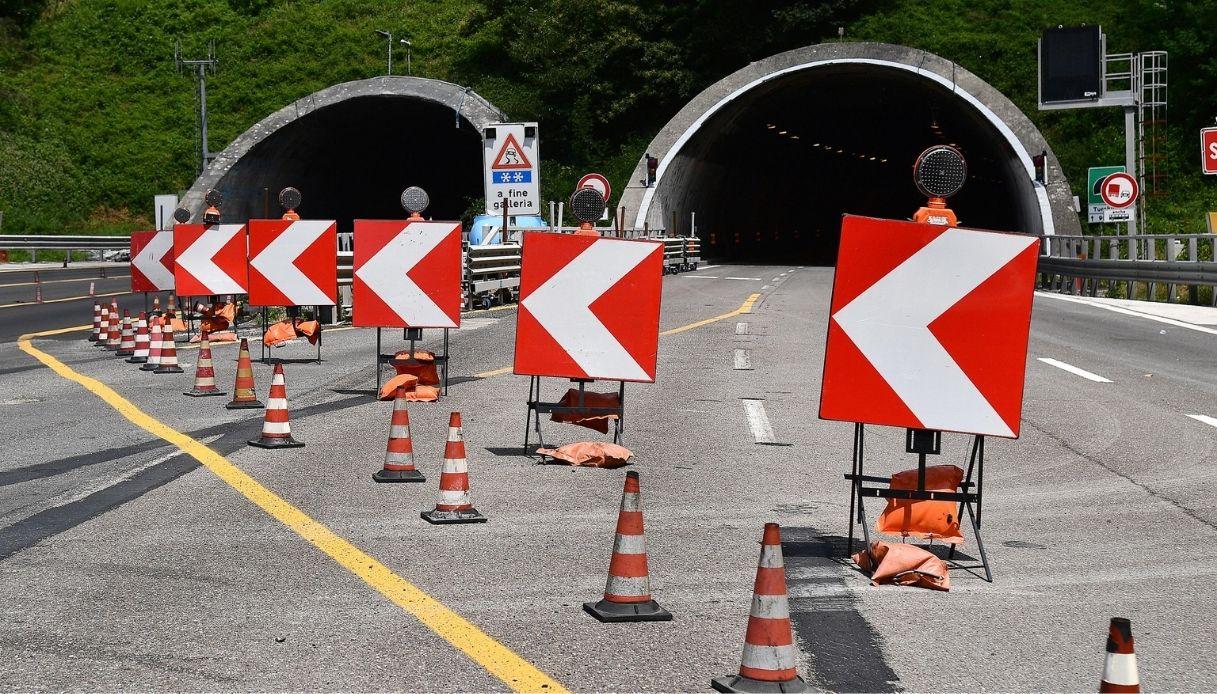 I cantieri stradali aperti durante le vacanze 2021 in Italia