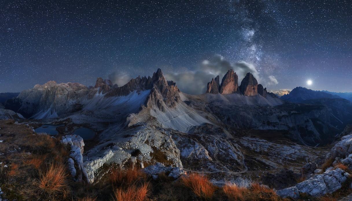 I luoghi migliori d'Italia da cui osservare le stelle