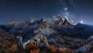I luoghi in cui vedere le stelle: le Alpi dell'Alto Adige
