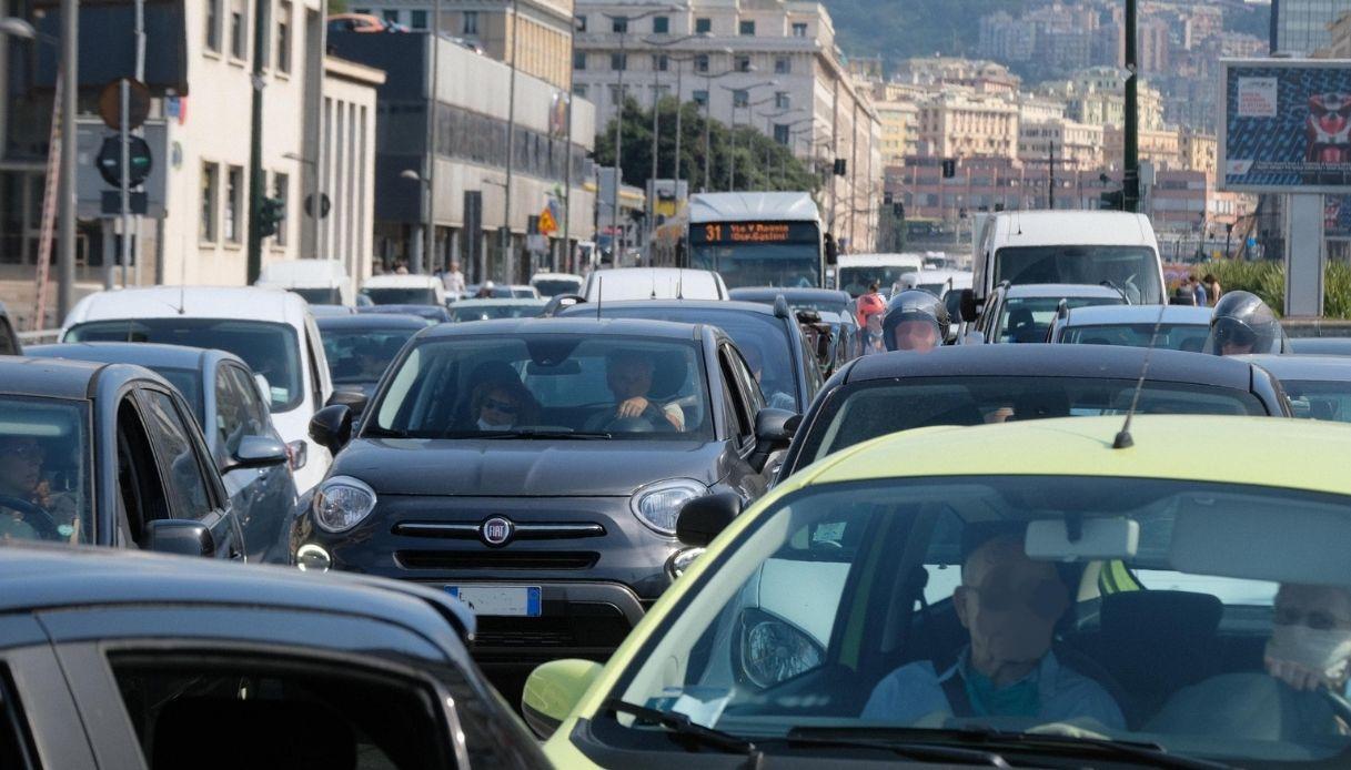 Allarme traffico Liguria
