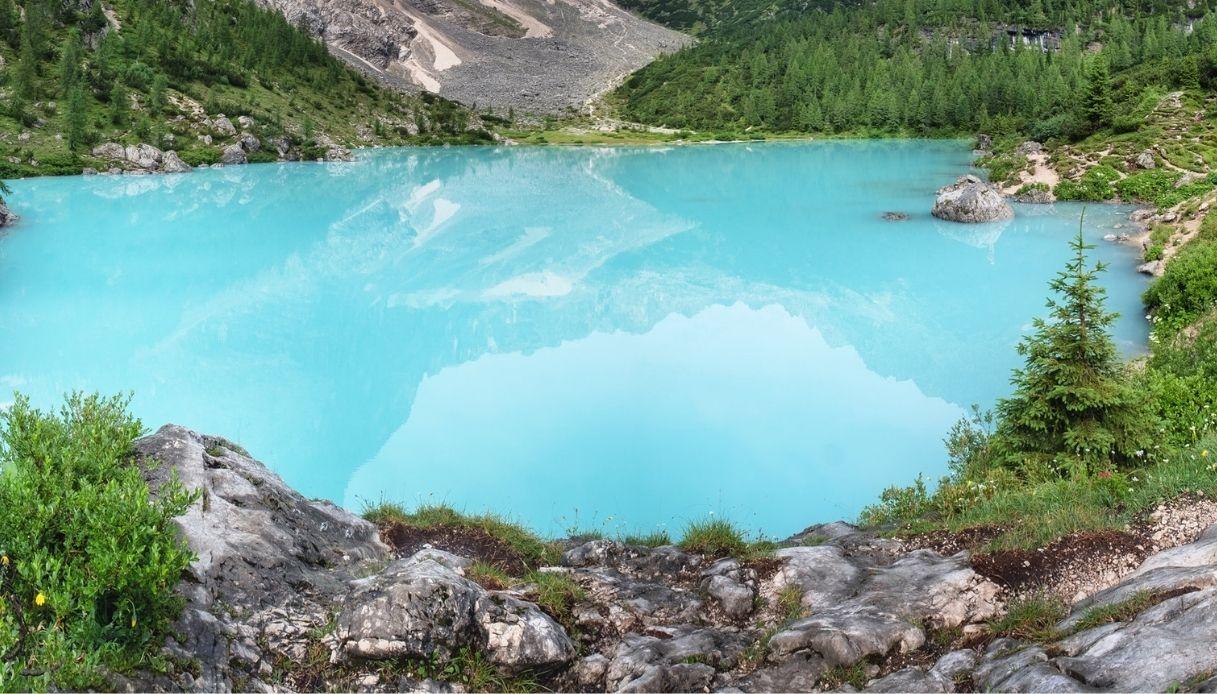 Allarme per il lago di Sorapis