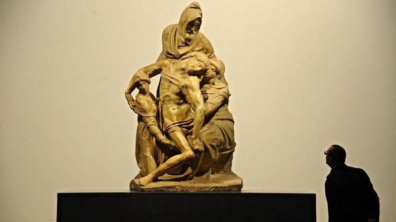 La Pietà Bandini di Michelangelo