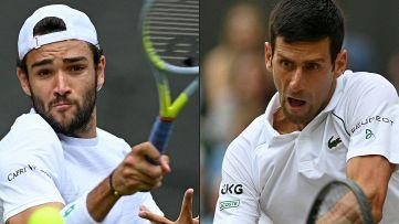 La super domenica di Wimbledon: Berrettini vs Djokovic