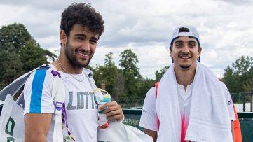 Wimbledon, Berrettini e Sonego a caccia dei quarti