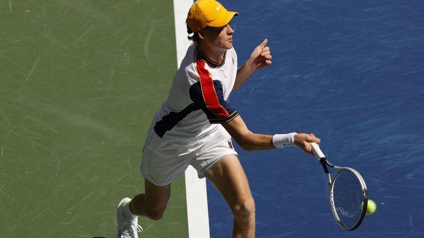 Jannik Sinner unico superstite azzurro a Indian Wells