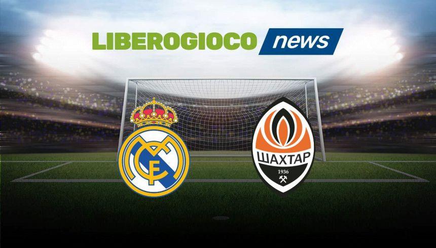 Lab facts su Real Madrid Shakhtar Donetsk
