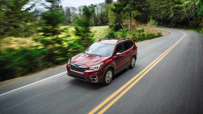 Forester 2.0 e-Boxer MHEV CVT Lineartronic Premium
