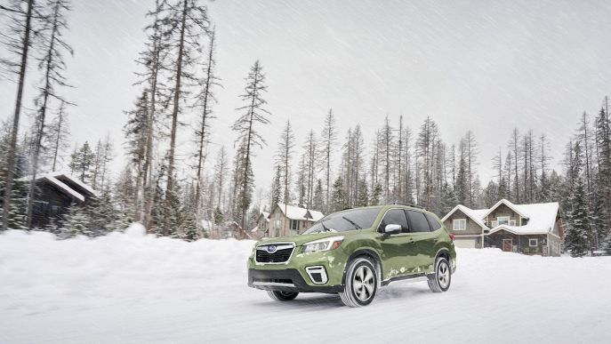 Forester 2.0 e-Boxer MHEV CVT Lineartronic 4Adventure