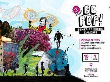 BE POP! SENZA PERDERE L'AMORE, dal 16 giugno al 1 luglio al Parco Virgiliano 8 appuntamenti al tramonto tra attualità, letteratura, musica e teatro