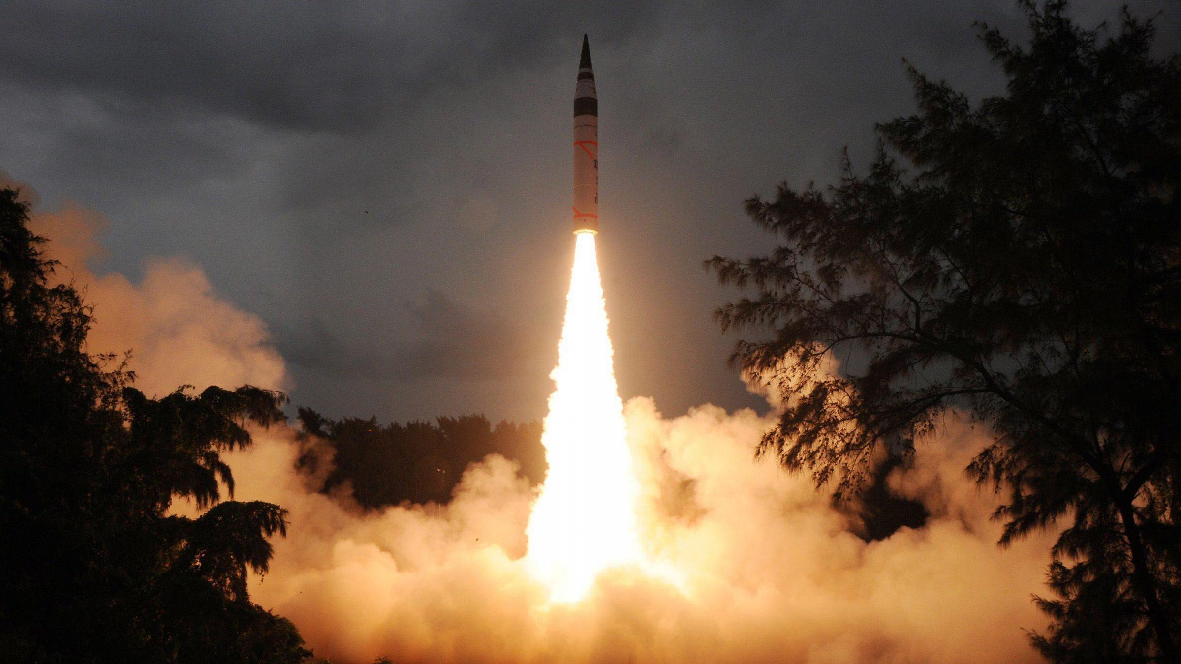 intercontinental ballistic missile india - HD2144×1424