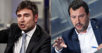 Matteo Salvini risponde a Di Battista: divampa la polemica