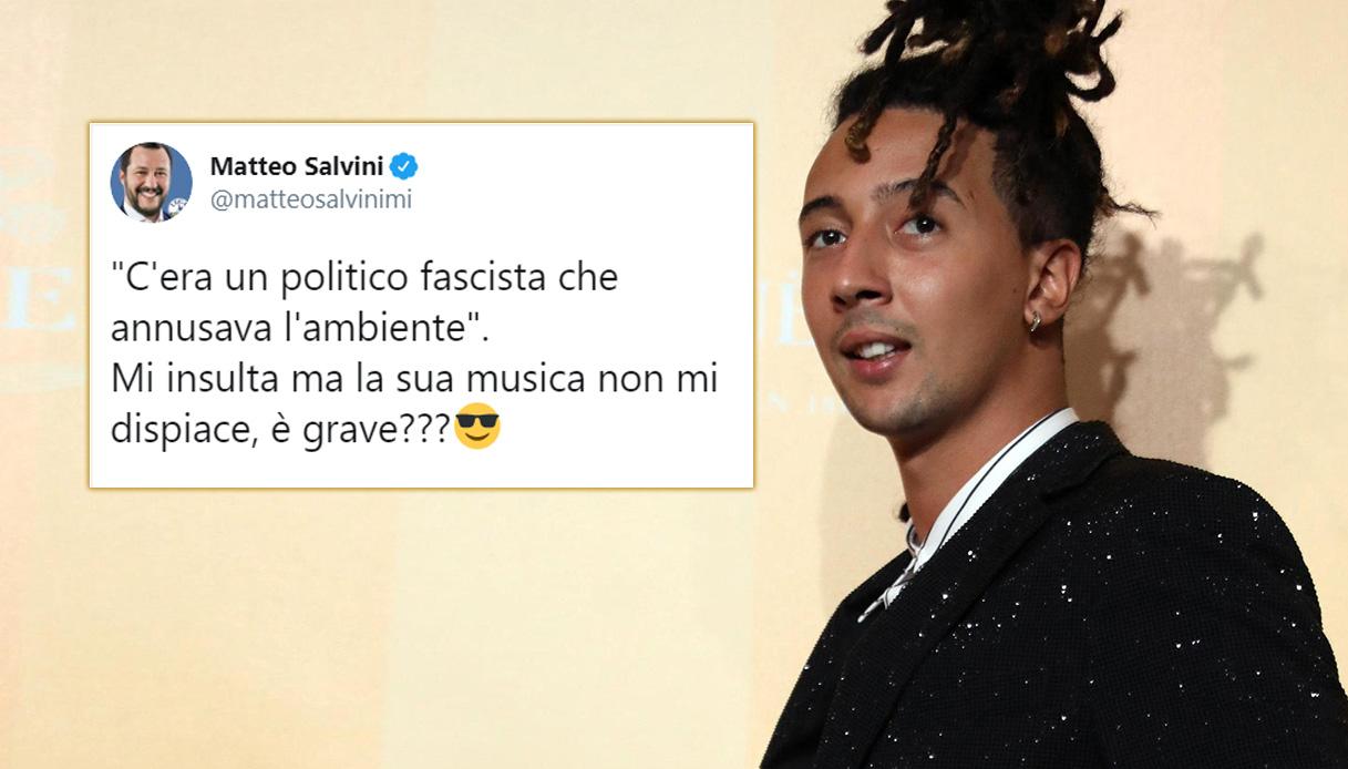 Ghali Incide Una Canzone Contro Salvini La Risposta Su Twitter