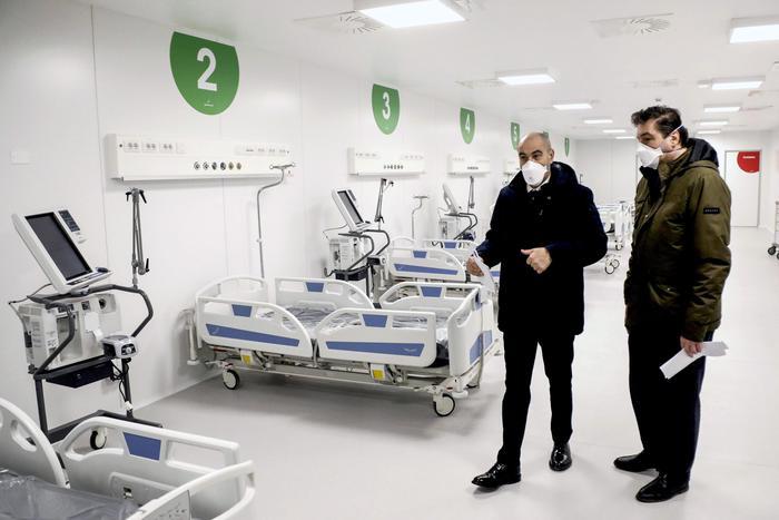 L'ospedale della Fiera a Milano, scommessa vinta in 10 giorni