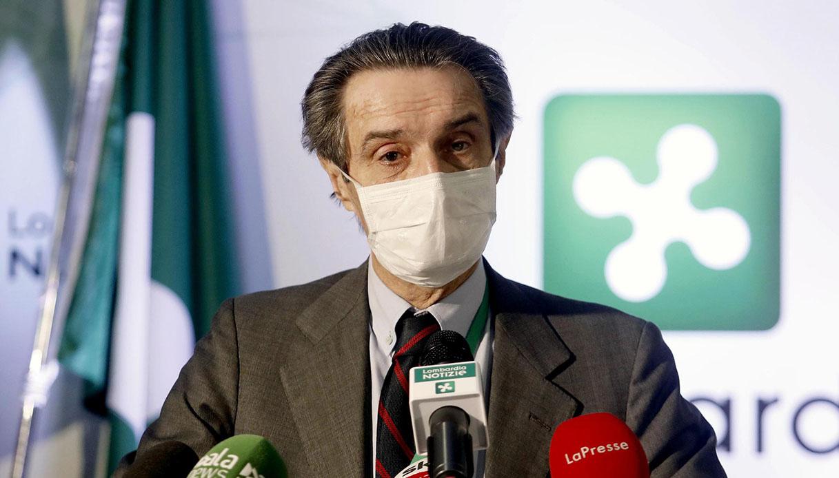 "Coronavirus, Fontana denuncia: ""Iss non dà ok alle mascherine"""