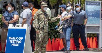 Usa, 53mila casi in 24 ore A Miami scatta il coprifuoco