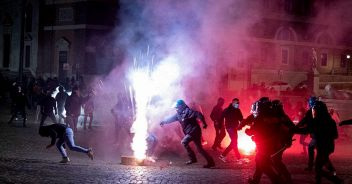scontri-roma