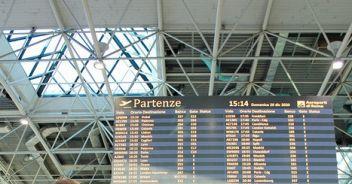 Aeroporti: stima traffico -75%, un quarto passeggeri del 2019