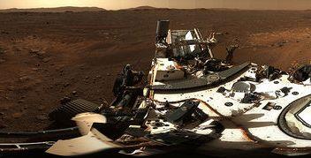 Marte, da Perseverance primo panorama in alta definizione
