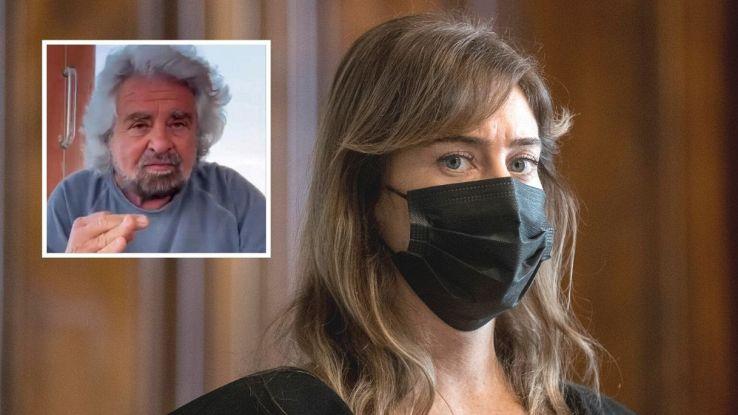 Accuse al figlio di Grillo, il duro attacco di Maria Elena Boschi |  VirgilioNotizie