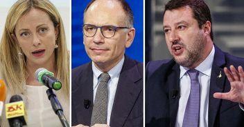 Sondaggi politici, chi scende e chi sale nelle intenzioni di voto