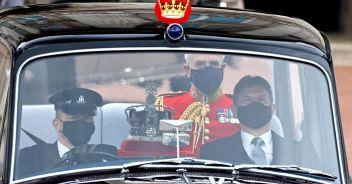 Elisabetta a Westminster  per il 'Discorso della Regina'
