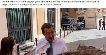 Colloquio tra Draghi e Salvini 'Misure? prossima settimana'