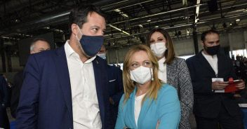 Salvini vaccinato,Meloni lo farà No-greenpass domani in piazza