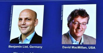 Il Nobel per la Chimica assegnato a List e MacMillan