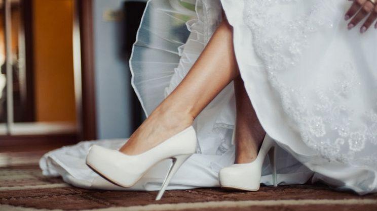 Scarpe Sposa Tacco Quadrato.Scarpe Sposa 2018 Cosa Mettere Ai Piedi Il Giorno Del Si Pg