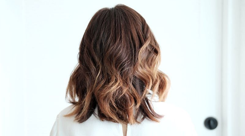 Tagli capelli medi degrade