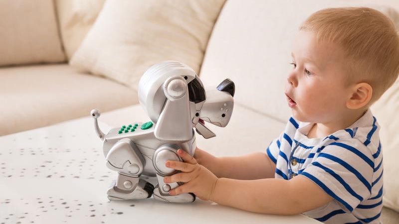 scegliere i robot da bambini