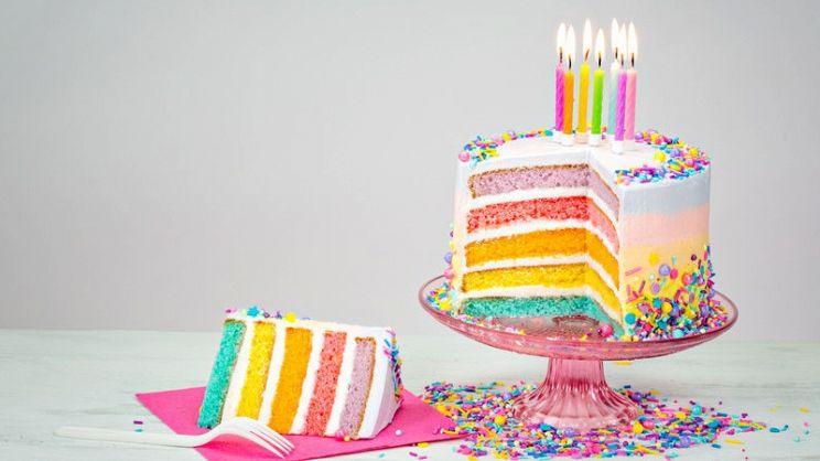 Torta Vasca Da Bagno.Rainbow Cake La Torta Perfetta Per Il Compleanno Dei Bambini