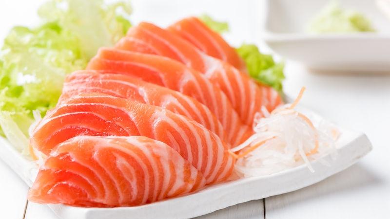 trota salmonata e salmone