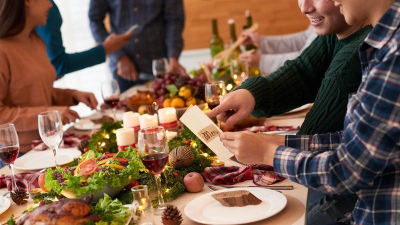 ristorante per il pranzo di Natale