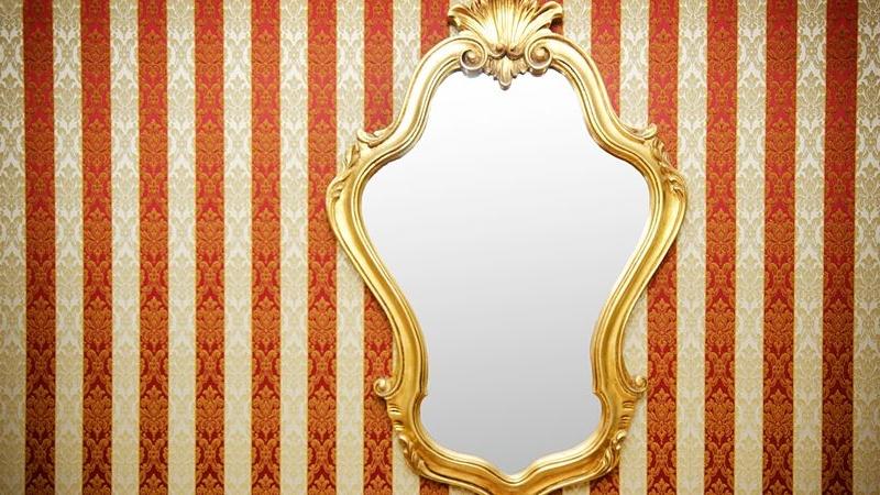 riconoscere uno specchio autentico vintage