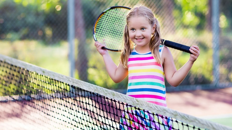 tennis per bambini, sì o no?